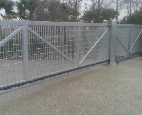 Cancello autoportante 1