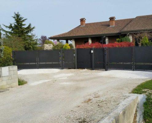 Cancello carraio pedonale fisso CIECHI 1